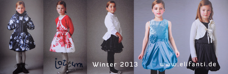 Jottum logo with a girl in winter clothing by Jottum: cardigans, dresses, skirts, shirts, winter jackets, down jackets, parkas, leggings, tightsfor winter 2012 2013
