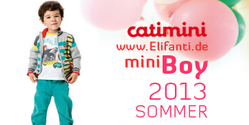 Catimini summer 2013 mini boy