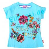 Cakewalk T-Shirt mit Flower in Blue Eyes