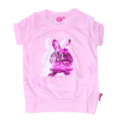 Cakewalk T-Shirt mit Hase Pink Shadow