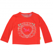 Oilily bequemes T-Shirt Tori mit Hund  Rot