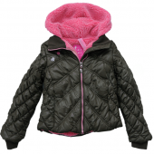 Cakewalk cool winter jacket with hood muddy