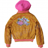 Cakewalk winter jacket with hood Brooklyn Gold