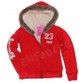 Cakewalk coole Sweatjacke Cardi Red Rot