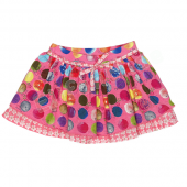 Cakewalk Rock Thea Skirt mit Dots Pink