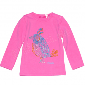 Cakewalk LA-Shirt Kandy mit Vogel Pink