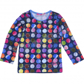 Cakewalk LA-Shirt Kis mit Dots Blue Navy