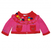 Catimini Baby Strickjacke Cardigan Rose