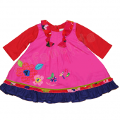 Catimini Baby Kleid Robe Flower Rose