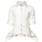 Jottum Bluse Klees off White Weiß
