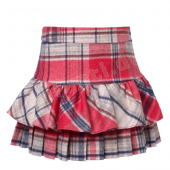 Jottum Rock Tara Skirt Red Barberr Pink-Rot