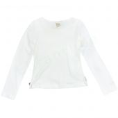Jottum Basic LA-Shirt Nalon Off White Weiß
