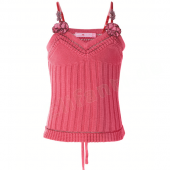 Muy Malo tricot ravissement top rose