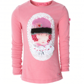 Muy Malo ML-shirt fille portrait rapture rose