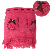 Muy Malo Strickrock Skirt in rapture Rosa