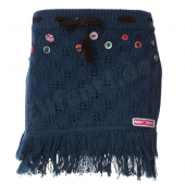 Muy Malo Strickrock Skirt in orion Blau