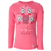 Muy Malo LA-Shirt with little shoes hot Pink
