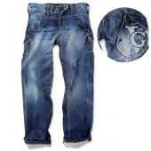 Vingino Boys coole Jeans Sesto wash Blau