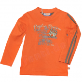 Paglie Jungen La-Shirt Apricot Orange