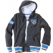Vingino Boys warme Sweatjacke Bartho dim grey