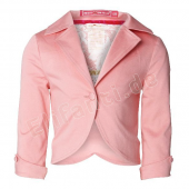 Muy Malo Jacke mit Pailletten Strawberry Pink