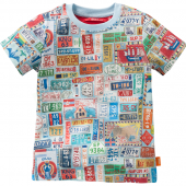 Oilily Jungen 2013 T-Shirt To Plates Blau
