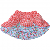 Oilily Rock Siza Skirt mini flower Blau Rot