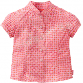Oilily Blouse Britney mit Muster Pink Rot