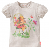 Oilily bequemes T-Shirt Toos Flower Beige