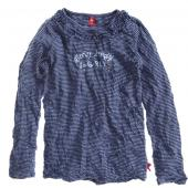 Cakewalk LA Shirt Knitter-Optik, Blau