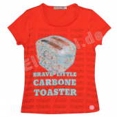 Carbone T-Shirt mit Toaster Rot