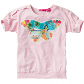 Cakewalk T-Shirt Klara Schmetterling Rose