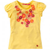 Cakewalk T-Shirt Kizzy Flower Yellow Gelb