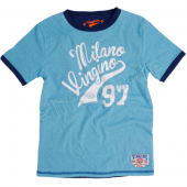 Vingino T-Shirt Jerome reversible aqua melee
