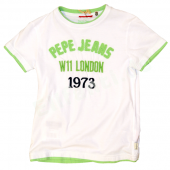 Pepe Jeans T-Shirt Daltons White Weiß