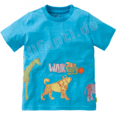 Oilily Jungen 2013 T-Shirt To Tier Blau