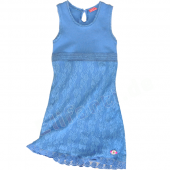 Muy Malo Sommer 2013 bequemes Kleid Blau