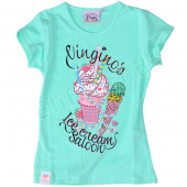 Vingino M�dchen T-Shirt Jennet mint Green