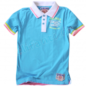 Vingino Polo Shirt Don River Aqua Blau