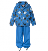 Ticket to Heaven Regenjacke Matschhose Blau