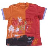 Catimini T-Shirt m. Jungelmotiven, Orange