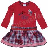 Pampolina bequemes Kleid Dancing Karo Rot