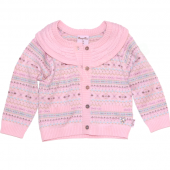 Pampolina niedlicher Cardigan Strickjacke Rosa
