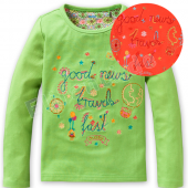 Oilily LA-Shirt Tip Good news Orange