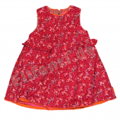 Oilily Kleid Dada Dress feine Blumen Rot