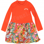 Oilily bequemes Kleid Doontje Flower Orange