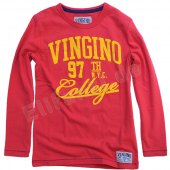 Vingino Boys LA-Shirt Jorin red Rot