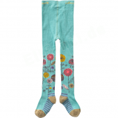 Cakewalk Strumpfhose Abby Bloom Ice Green Blau