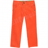 Oilily bequeme Hose Parel Pants Kord Orange