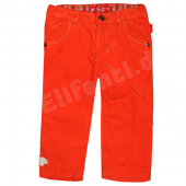 Oilily bequeme Hose Pita Pants Kord Orange